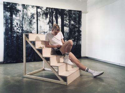 Performance, Der jugendliche Läufer mit Tim Habe, (c) Conny Karlsson Lundgren