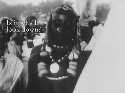 Onyeka Igwe | Videostill Specialised Technique | 2018 Courtesy of the artist and BFI National Archive